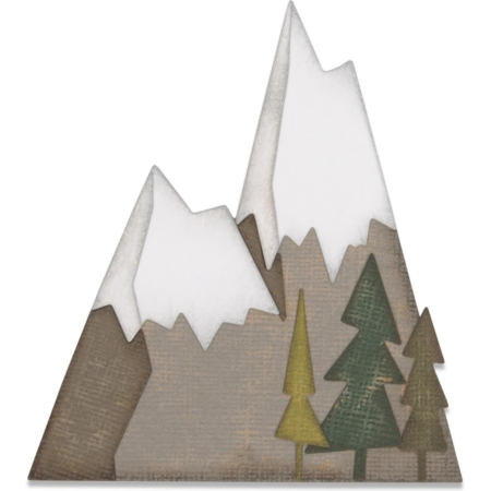 Sizzix Thinlits - Tim Holtz - Alpine - 664225