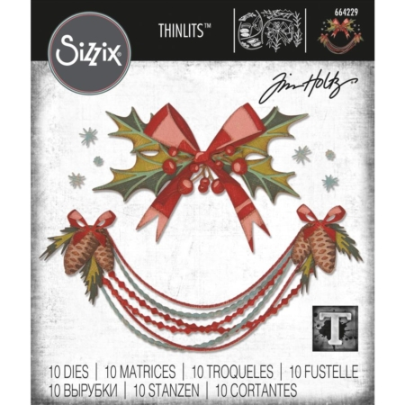 Sizzix Thinlits Tim Holtz - Deck The Halls - 664229