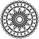 Crafter's Workshop Template - Ring Doily - TCW460s