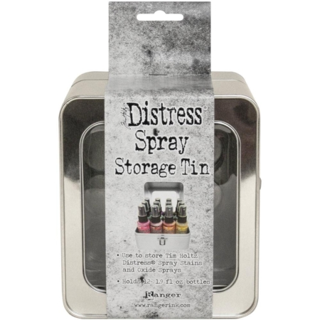 Tim Holtz Distress Oxide Spray Storage Tin - TDA68068