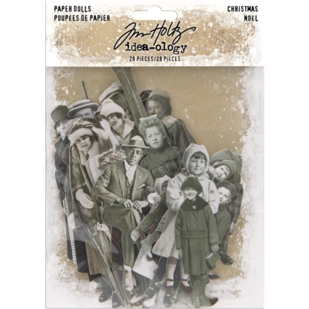 Tim Holtz Idea Ology - Paper Dolls Christmas 2019 - TH94001