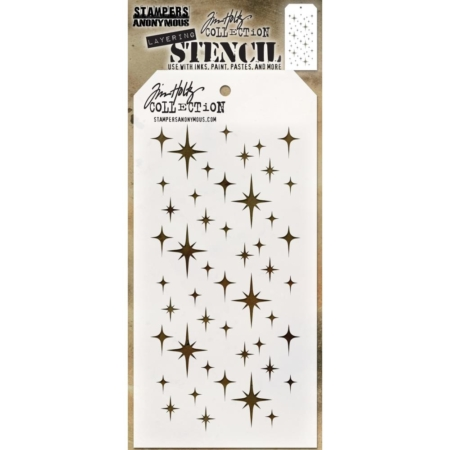 Tim Holtz - Layered Stencil - Sparkle - THS132