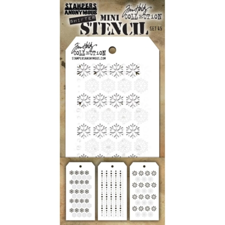 Tim Holtz - Layering stencil - Mini Set 45 - MST045