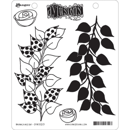 Dyan Reaveley's Dylusions Cling Stamp - Branching Out