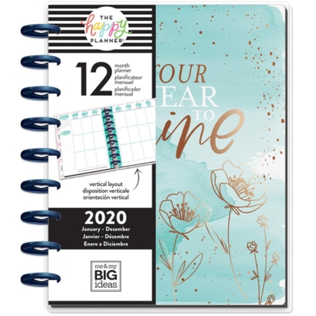 Happy Planner - Year To Shine - Dated Classic - PLNY-148