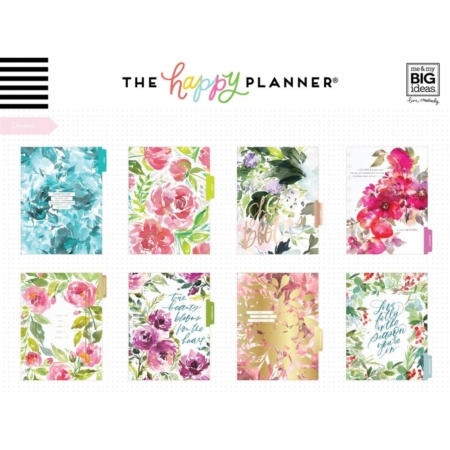 Happy Planner - Spring Floral - Dated Classic - PLNY-156