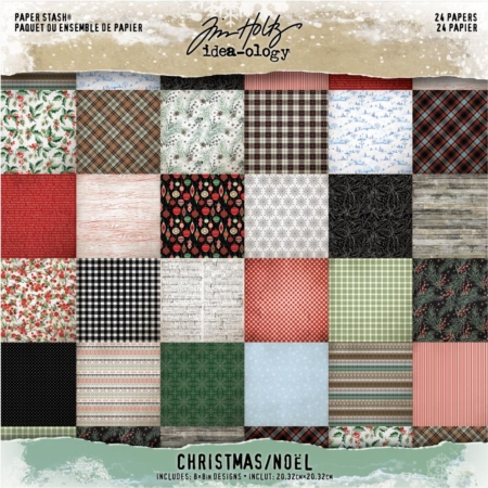 Tim Holtz - Idea-Ology Paper Stash - Christmas 2019 - TH93988