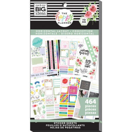 Happy Planner Sticker - Horizontal - PPSV-155