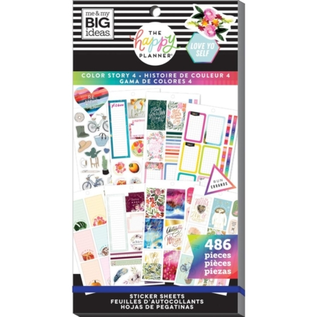 Happy Planner Sticker - Color Story - PPSV-160