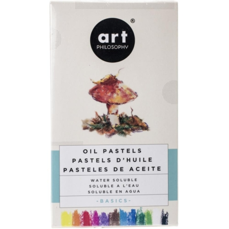Prima Art Philosophy Water Soluble Oil Pastels - Basics