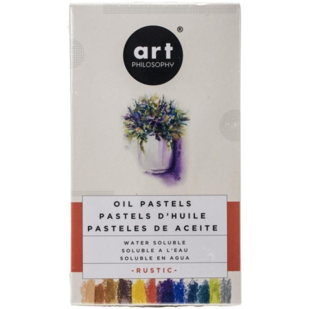 Prima Art Philosophy Water Soluble Oil Pastels – Rustic