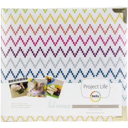 Project Life D-Ring Album - Chevron - 312080