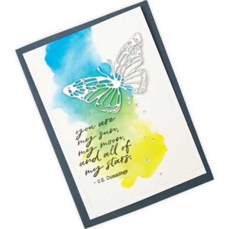 Sizzix Thinlits - Tim Holtz - Scribbly Butterfly - 664409