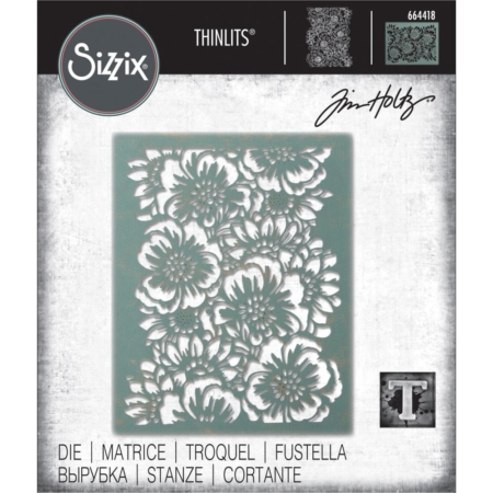 Sizzix Thinlits - Tim Holtz - Bouquet - 664418