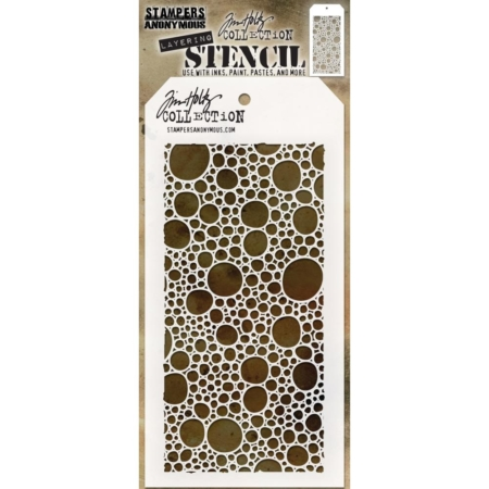 Tim Holtz - Layered Stencil - Bubbles -Layered - THS128