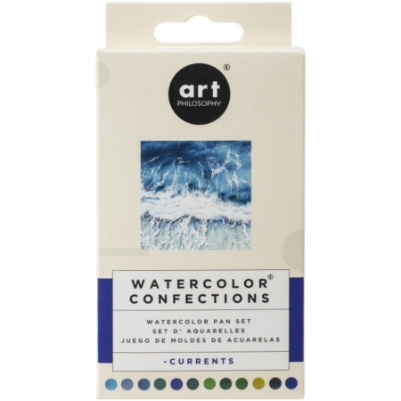 Prima Art Philosophy Confections Watercolor Pans Currents