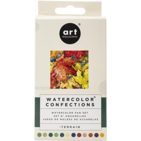 Prima Art Philosophy Confections Watercolor Pans Terrain