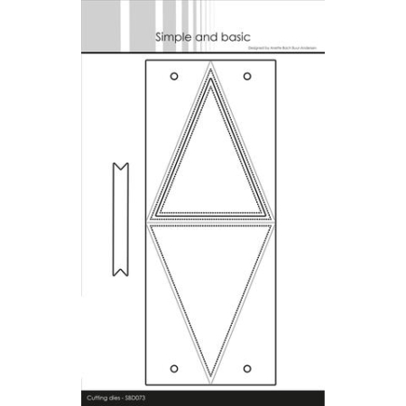 Simple and Basic Dies - Triangle Box - SBD073