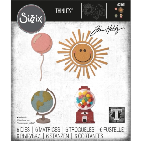 Sizzix Thinlits - Tim Holtz - Circle Play - 663868