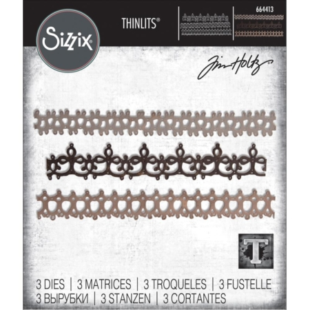 Sizzix Thinlits - Tim Holtz - Crochet #2 - 664413
