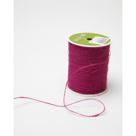 May Arts Burlap String 1 mm X 400 yd - GRAPE