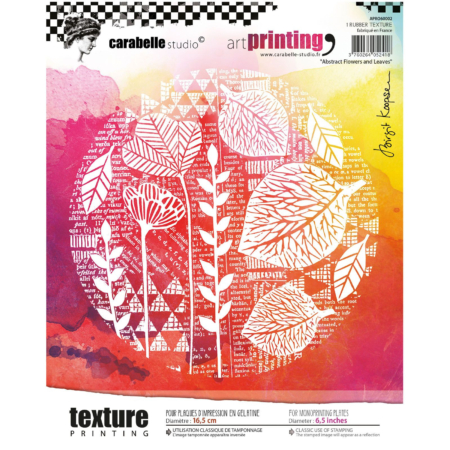 Carabelle Studio art stamp - Flowers and Leaves - APRO60002