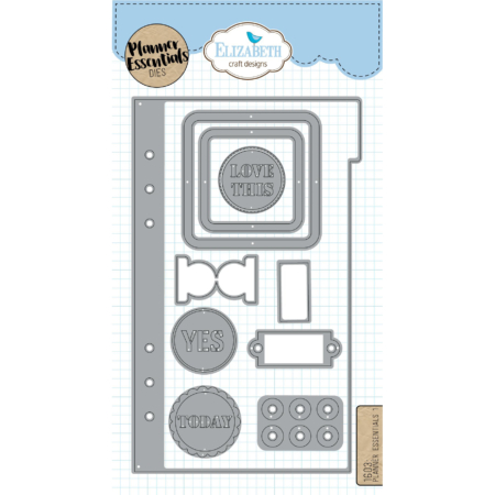 Elizabeth Craft Designs Dies - Planner Essentials 1 - 1603