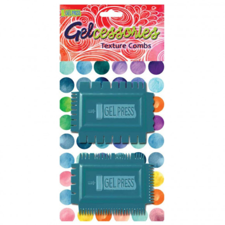 Gel Press - Gelcessories Texture combs - 18105