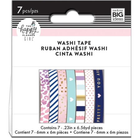Happy Planner Mini Washi Tapes - Glam Girl - WTB-44
