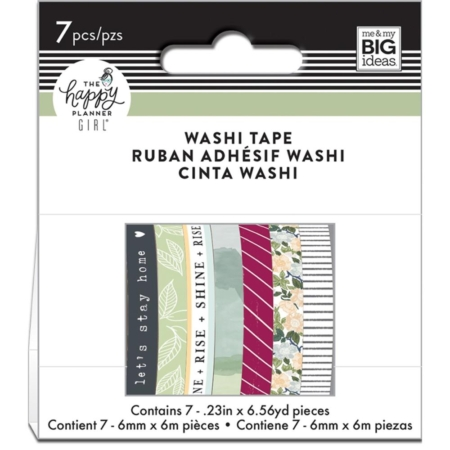 Happy Planner Mini Washi Tapes - Homebody - WTB-40