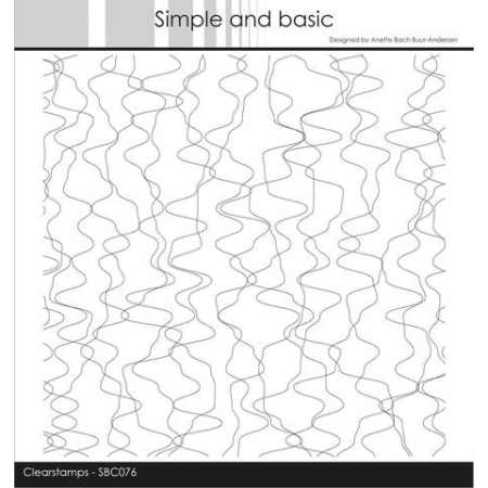 Simple and Basic Stempel - Wavy Lines BackSimple and Basic Stempel - Wavy Lines Background - SBC076ground - SBC076
