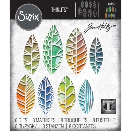 Sizzix Thinlits Tim Holtz - Cut out Leaves - 664431