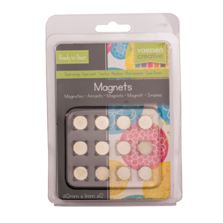 Vaessen Creative - Magnet Ni35 Superstrong Ø12x1mm
