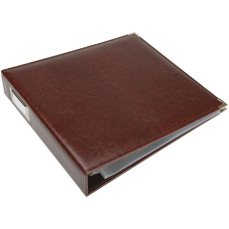 We R Memory Keepers - Faux leather album - Cinnamon