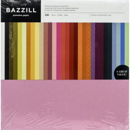 Bazzil Premium Cardstock Value Pack - Assorted Colors