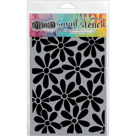 "Dyan Reaveley's Dylusions Stencils (5X8"") - Spring Bloom"