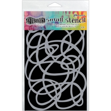 """Dyan Reaveley's Dylusions Stencils (5X8"""") - Squiggle"""