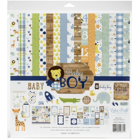 Echo Park Collection Pack - Baby Boy - BAB203016