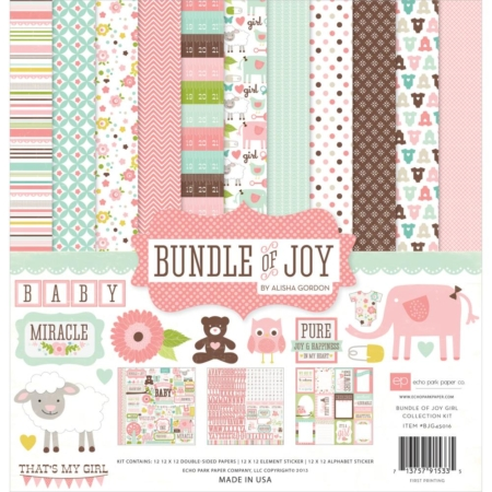 Echo Park Collection Pack - Bundle Of Joy Girl - BJG45016