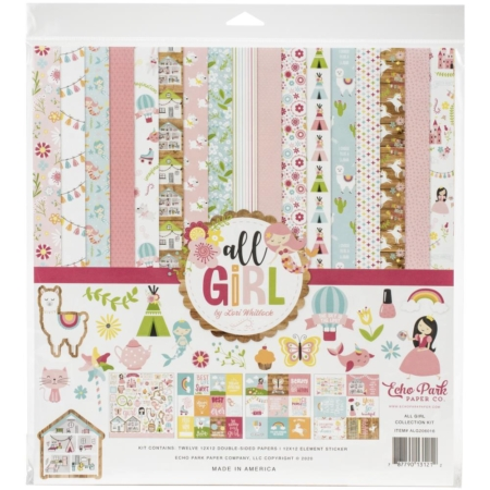 Echo Park Collection kit - All Girl - ALG206016