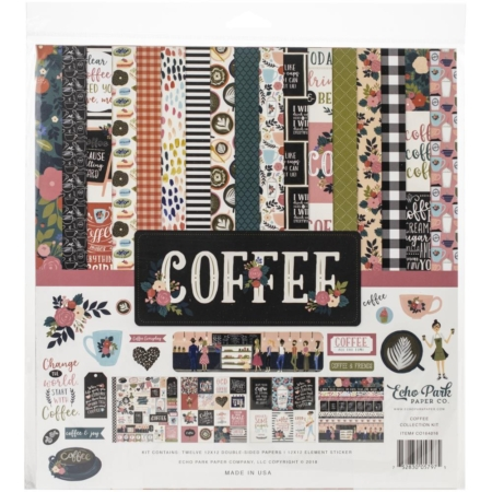 Echo Park Collection kit - Coffee - CO164016