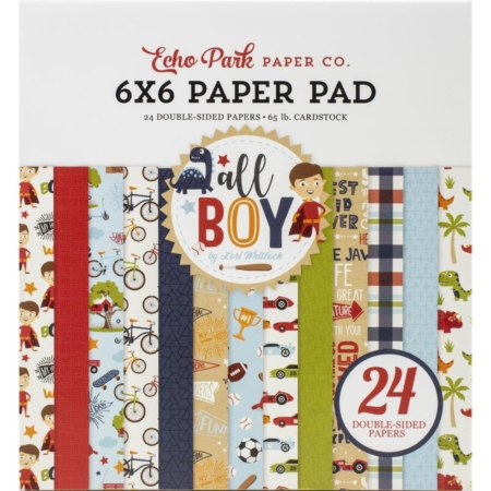 Echo Park Paper Pad - All Boy - ALB207023