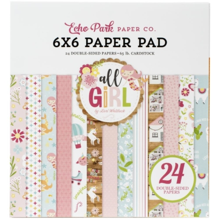 Echo Park Paper Pad - All Girl - ALG206023