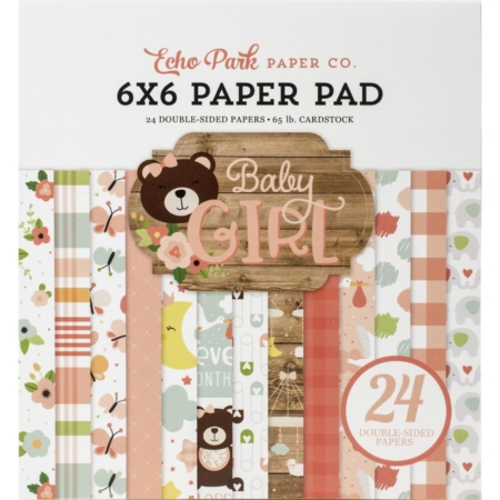 Echo Park Paper Pad - Baby Girl - BAG202023