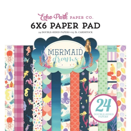 Echo Park Paper Pad - Mermaid Dreams - MDR175023
