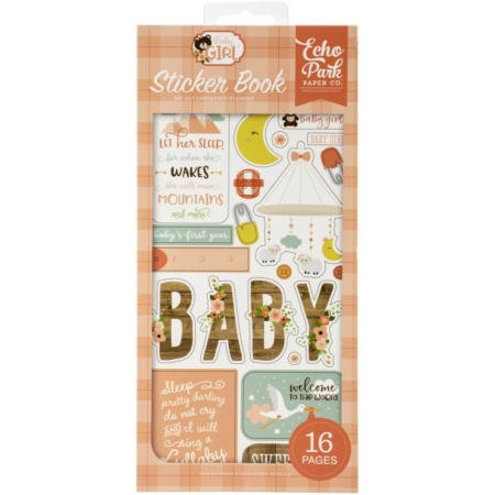 Echo Park Sticker Book - Baby Girl - BAB202029