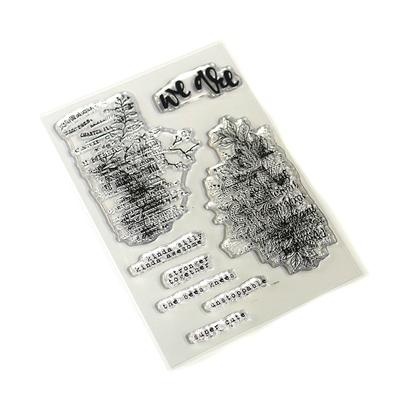 Elizabeth Craft Designs Stamp – Words & Layers – CS170