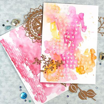 Elizabeth Craft Designs Stencil Make Your Mark S031
