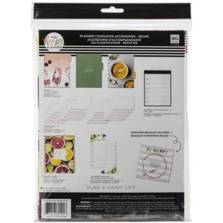 Happy Planner - Classic Planner Companion Accessories - Recipe