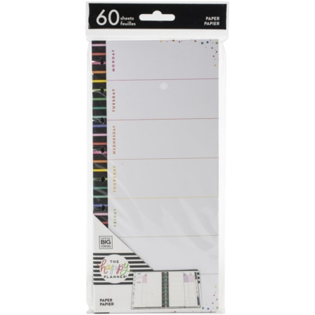 Happy Planner Half Sheet Fill Paper - Everyday - FIL-106